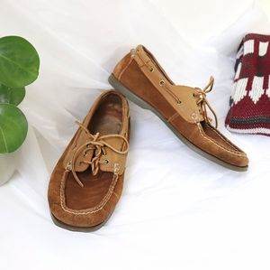 Polo Ralph Lauren Brown Suede Loafers